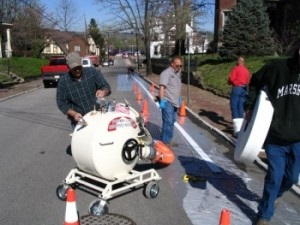 Atlanta residents, broken, leaking, and cracked pipes were repaired using Cured-In-Place-Pipe